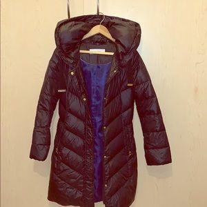 Tahari Hooded Down Coat